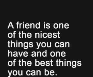 quote, friends, and happy image