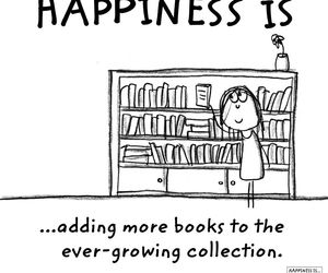 book, happiness, and collection image