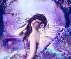 pretty and beautiful fairy! image