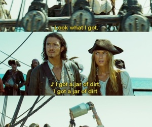 funny, jack sparrow, and william turner image