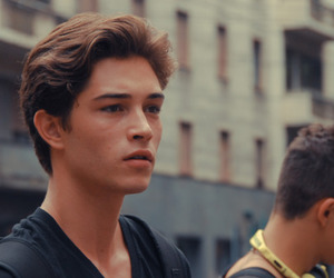 Francisco Lachowski, boy, and model image