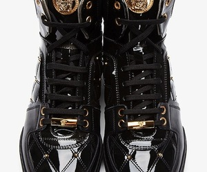 fashion, sneakers, and Versace image