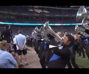 blue, knights, and trumpet image