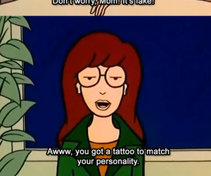 Daria, fake, and funny image