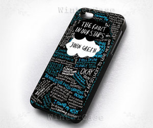 iphone, john green, and the fault in our stars image