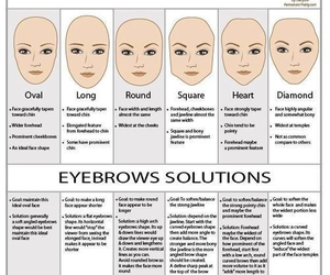 eyebrows, face, and beauty image
