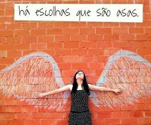 asas, wings, and inspiration image