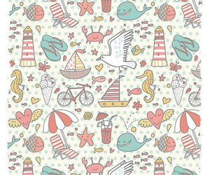 background, pattern, and summer image
