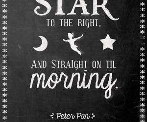 peter pan, disney, and stars image