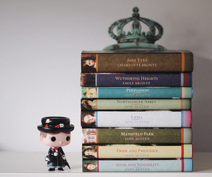 book, jane austen, and jane eyre image