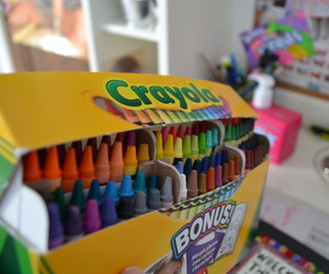 crayon, colors, and crayola image