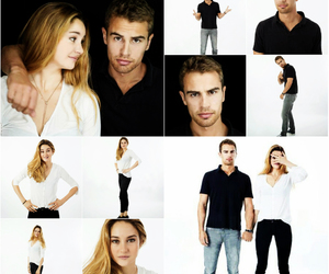 Shailene Woodley, theo james, and sheo image