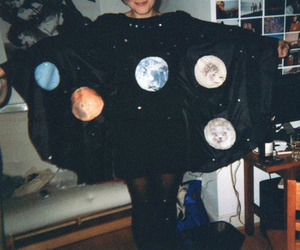 girl, planet, and indie image