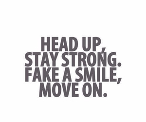move on, quotes, and smile image