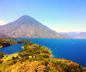 home, volcano, and beauty image