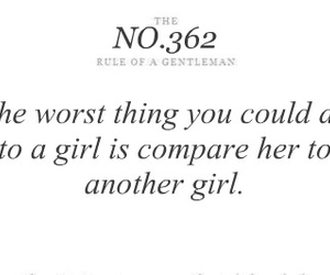 girl, quote, and compare image