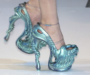 shoes and Alexander McQueen image
