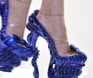 Alexander McQueen, platforms, and shoes image