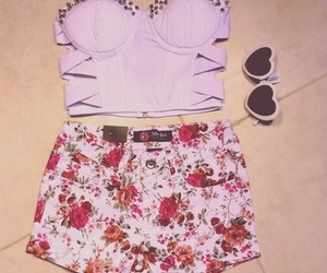 outfit and floral image