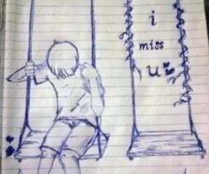 miss, boy, and i miss you image