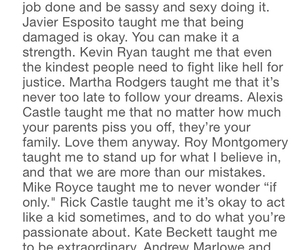 beckett, castle, and kate image