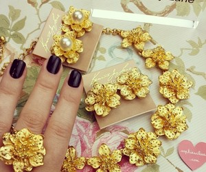Dubai, floral, and jewelry image