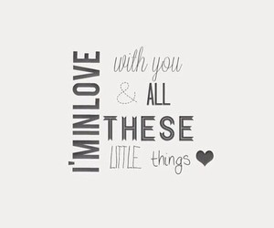 little things, love, and one direction image
