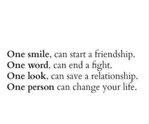 smile, quotes, and life image