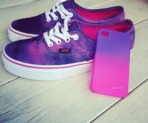 purple, shoes, and vans image