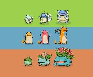 pokemon, bulbasaur, and charmander image