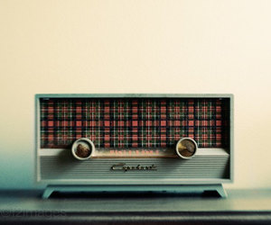 radio, retro, and vintage image