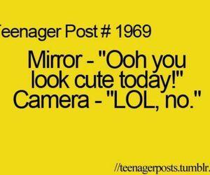 lol, mirror, and camera image