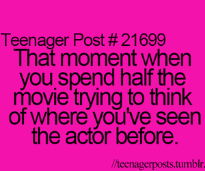 actor, movie, and teenager post image