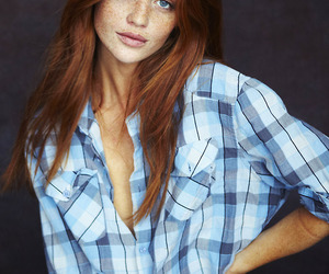model and red hair image