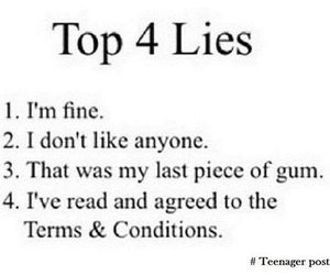 lies, quotes, and true image