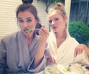 model, irina shayk, and Magdalena Frackowiak image