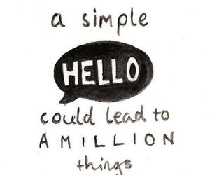 quote, hello, and million image