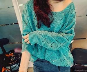 blue, lovely, and stylish image