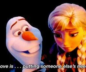 conversation, frozen, and sweet image