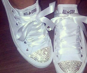 all star, blanche, and converse image