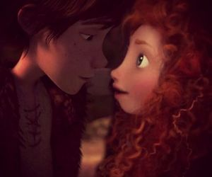 mericcup, merida, and hiccup image