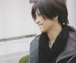 gackt, smile, and handsome image