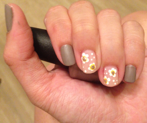 daisy, manicure, and nails image
