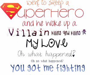 cher lloyd, superhero, and Lyrics image