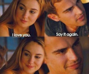 divergent, love, and four image