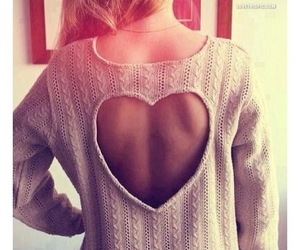 backless, heart, and sexy image