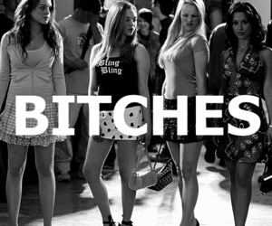 bitches, mean girls, and jacksontoothfacebong image