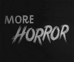 horror, black and white, and more image