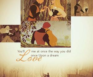 love, disney, and sleeping beauty image