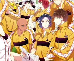 prince of tennis, marui bunta, and yukimura seiichi image